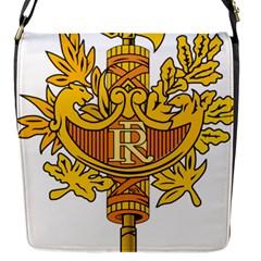 National Emblem of France  Flap Messenger Bag (S)