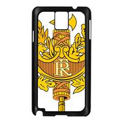 National Emblem of France  Samsung Galaxy Note 3 N9005 Case (Black)