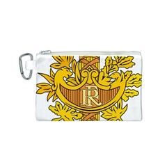 National Emblem of France  Canvas Cosmetic Bag (S)
