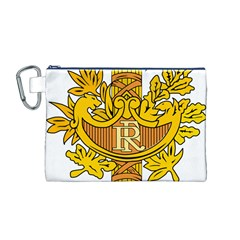 National Emblem of France  Canvas Cosmetic Bag (M)