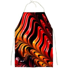 Fractal Mathematics Abstract Full Print Aprons