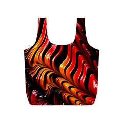 Fractal Mathematics Abstract Full Print Recycle Bags (S)