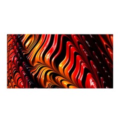 Fractal Mathematics Abstract Satin Wrap