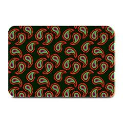 Pattern Abstract Paisley Swirls Plate Mats