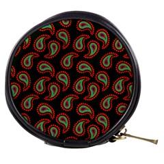 Pattern Abstract Paisley Swirls Mini Makeup Bags