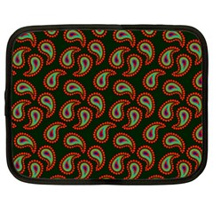 Pattern Abstract Paisley Swirls Netbook Case (XXL)