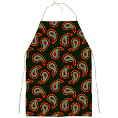 Pattern Abstract Paisley Swirls Full Print Aprons