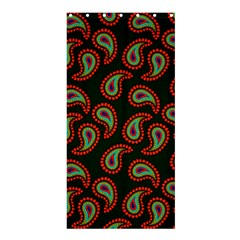 Pattern Abstract Paisley Swirls Shower Curtain 36  x 72  (Stall)