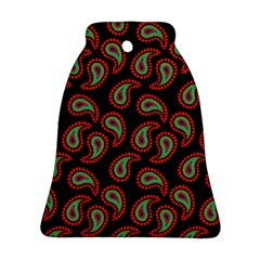 Pattern Abstract Paisley Swirls Bell Ornament (Two Sides)