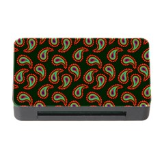 Pattern Abstract Paisley Swirls Memory Card Reader with CF