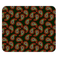 Pattern Abstract Paisley Swirls Double Sided Flano Blanket (Small)