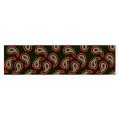 Pattern Abstract Paisley Swirls Satin Scarf (oblong)