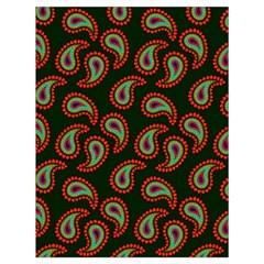 Pattern Abstract Paisley Swirls Drawstring Bag (Large)