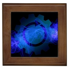 Particles Gear Circuit District Framed Tiles