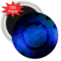 Particles Gear Circuit District 3  Magnets (100 pack)