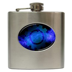 Particles Gear Circuit District Hip Flask (6 Oz)