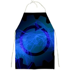 Particles Gear Circuit District Full Print Aprons