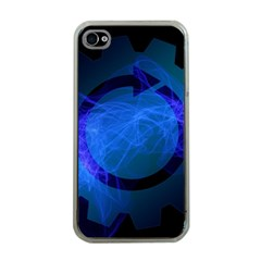 Particles Gear Circuit District Apple iPhone 4 Case (Clear)