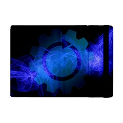 Particles Gear Circuit District Apple Ipad Mini Flip Case