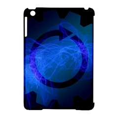 Particles Gear Circuit District Apple iPad Mini Hardshell Case (Compatible with Smart Cover)