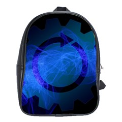 Particles Gear Circuit District School Bags (XL)
