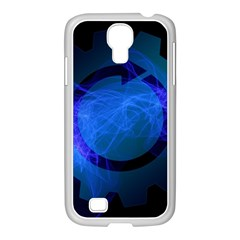 Particles Gear Circuit District Samsung Galaxy S4 I9500/ I9505 Case (white)
