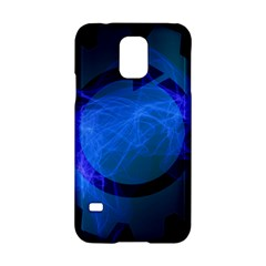 Particles Gear Circuit District Samsung Galaxy S5 Hardshell Case