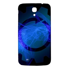 Particles Gear Circuit District Samsung Galaxy Mega I9200 Hardshell Back Case
