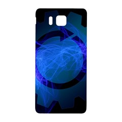 Particles Gear Circuit District Samsung Galaxy Alpha Hardshell Back Case