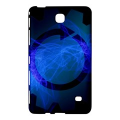 Particles Gear Circuit District Samsung Galaxy Tab 4 (8 ) Hardshell Case