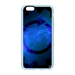 Particles Gear Circuit District Apple Seamless iPhone 6/6S Case (Color)