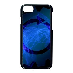 Particles Gear Circuit District Apple Iphone 7 Seamless Case (black)