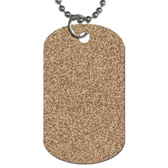 Mosaic Pattern Background Dog Tag (two Sides)