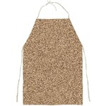 Mosaic Pattern Background Full Print Aprons Front