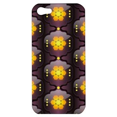 Pattern Background Yellow Bright Apple iPhone 5 Hardshell Case