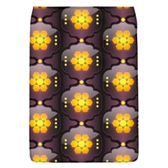 Pattern Background Yellow Bright Flap Covers (S)