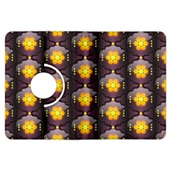 Pattern Background Yellow Bright Kindle Fire HDX Flip 360 Case