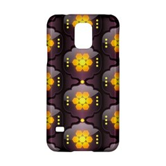 Pattern Background Yellow Bright Samsung Galaxy S5 Hardshell Case