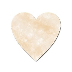 Pattern Background Beige Cream Heart Magnet