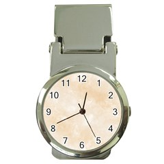 Pattern Background Beige Cream Money Clip Watches
