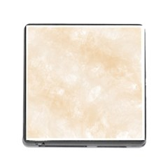 Pattern Background Beige Cream Memory Card Reader (square)