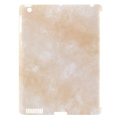 Pattern Background Beige Cream Apple iPad 3/4 Hardshell Case (Compatible with Smart Cover)