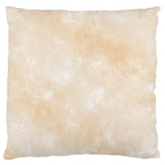 Pattern Background Beige Cream Large Cushion Case (Two Sides)
