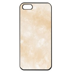Pattern Background Beige Cream Apple iPhone 5 Seamless Case (Black)