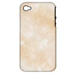 Pattern Background Beige Cream Apple iPhone 4/4S Hardshell Case (PC+Silicone)
