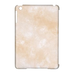 Pattern Background Beige Cream Apple iPad Mini Hardshell Case (Compatible with Smart Cover)
