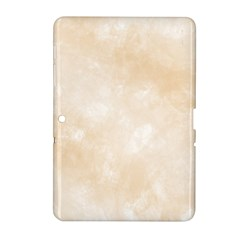 Pattern Background Beige Cream Samsung Galaxy Tab 2 (10.1 ) P5100 Hardshell Case
