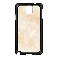 Pattern Background Beige Cream Samsung Galaxy Note 3 N9005 Case (black)