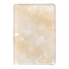 Pattern Background Beige Cream Samsung Galaxy Tab Pro 10.1 Hardshell Case