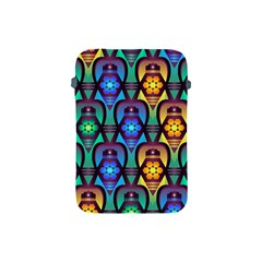 Pattern Background Bright Blue Apple iPad Mini Protective Soft Cases